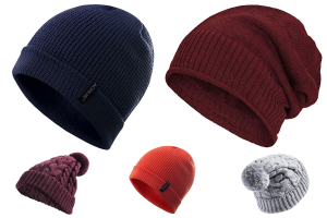 gorro impermeable mujer